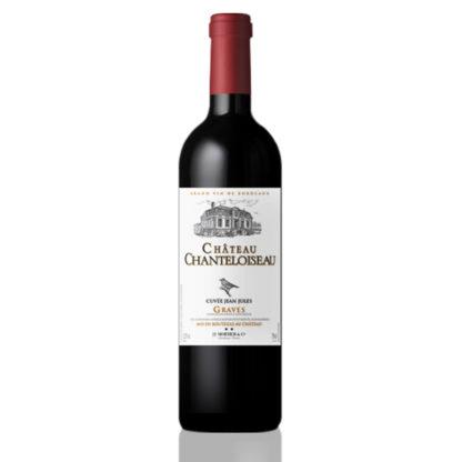 Bouteille vin rouge Chanteloiseau