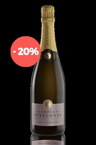 Bouteille Champagne JP Secondé