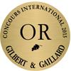 Médaille or Gilbert Gaillard