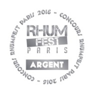 Medaille argent Rhumfest 2016