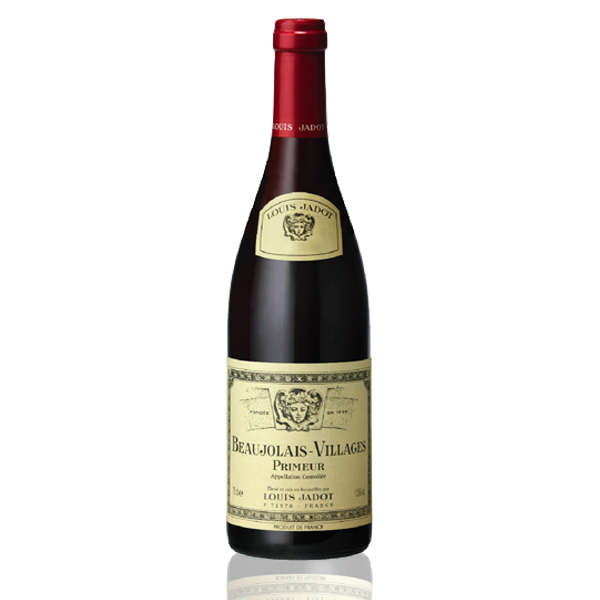 Bouteille vin Beaujolais primeur jadot