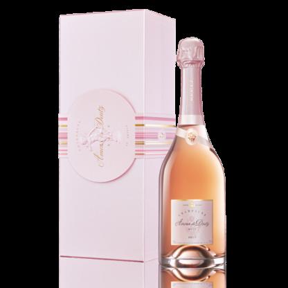 Bouteille champagne deutz rose amour