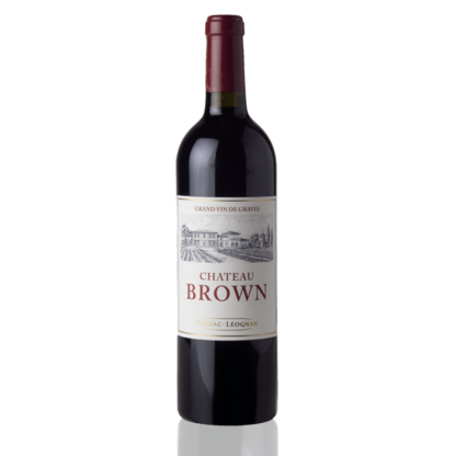 bouteille brown pessac leognan