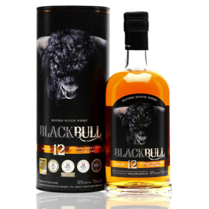 Bouteille whisky black bull 12 ans