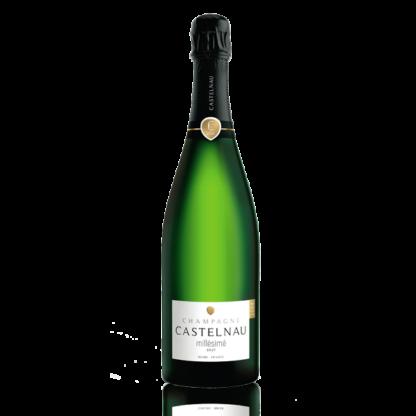 Bouteille champagne Castelnau millésimé