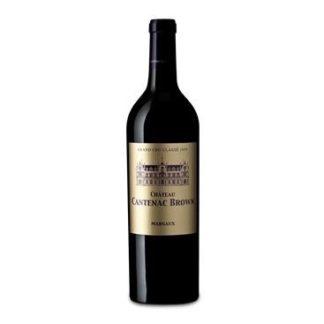 Bouteille de vin rouge Château Cantenac Brown cru 2017