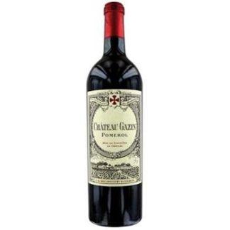 Bouteille de vin rouge Château Gazin 2017