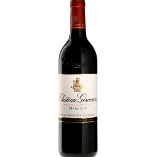 Bouteille de vin Château Giscours millésime 2017