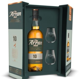 Coffret 10 ans du Whishy Arran avec 2 verres
