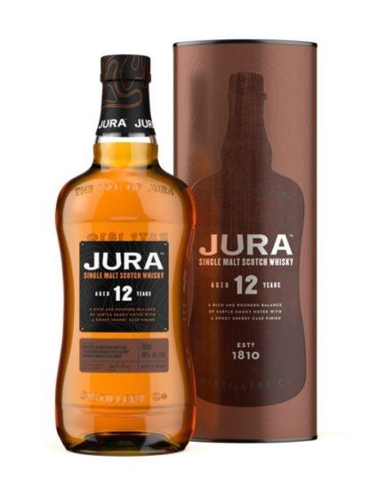 Bouteille de Whisky Jura 12 ans d'âge